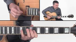 Jazz Scales Guitar Lesson - Jazz Melodic Minor Lick - Tom Dempsey
