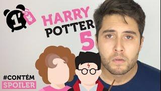 Harry Potter e a Ordem da Fênix | RESUMO EM 1 MINUTO l #CONTÉMSPOILER