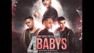 4 Babys - Maluma Ft Bryant Myers, Noriel, Juhn El All Star (Letra - Lyric)
