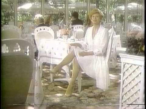Juliet Prowse L'eggs leggs pantyhose commercial 1980