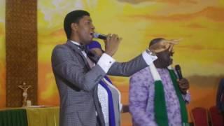 Gov Okorocha Singing & Dancing with Steve Crown