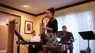 Take the A Train [by Duke Ellington] sax solo and recital