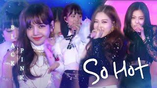 블랙핑크, 뜨거운 에너지로 재해석한 원더걸스의 'So Hot' @2017 SBS 가요대전 1부 20171225