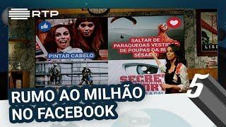 RUMO AO MILHÃO NO FACEBOOK | 5 Para a Meia-Noite | RTP