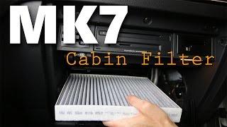 MK7 GTI Cabin (Pollen) Filter DIY Install