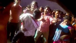 Chalappalem  village recording dance in vinayakachavithe celebrations