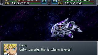 Super Robot Wars Alpha Gaiden - Vertigo Attack