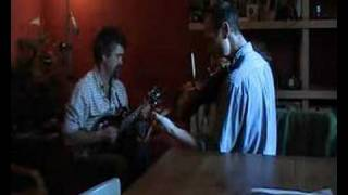 Irish music on fiddle and mandolin