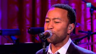 """John Legend performs """"I Heard It Through the Grapevine"""" 