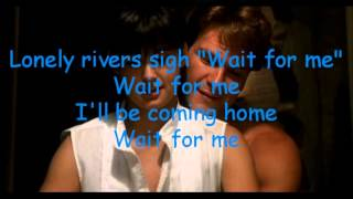 Unchained Melody / Righteous Brothers - Lyric Video - HD 1080p