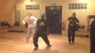 Get It On The Floor - DMX - Hip Hop Dance Class With Tiger @ Husky Studios London