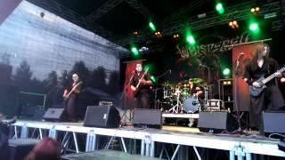 Whispered - Jikininki live @ Nummirock 2014