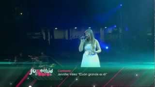 """""""Juventud Vibra 2012"""" HD: Jennifer Vélez"""