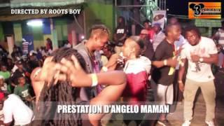 PRESTATION D'ANGELO  AU CONCERT LIVE DE DJ LEO AU NPA