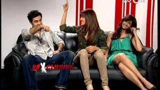 Priyanka, Ileana & Ranbir talk about Barfi! in an exclusive interview on zoOm