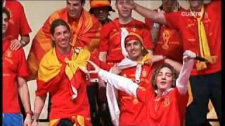 Sergio Ramos canta con David Bisbal