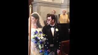 Here Comes The Bride - Saxophone - Wagner's bridal chorus - Daniel & Michelle's Wedding