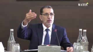 El Othmani préside la commission ministérielle en charge du dossier de l'eau