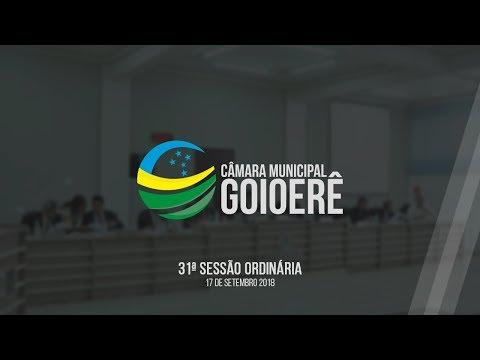 Vídeo na íntegra da sessão desta segunda-feira, 17, da Câmara Municipal de Goioerê