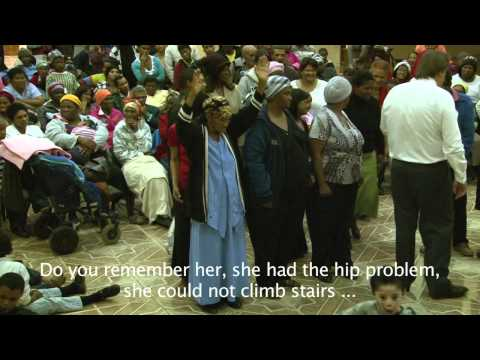 Hip condition healed! REVIVAL! ministries South Africa Johann van der Hoven