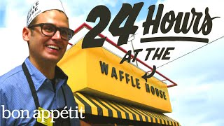 Working 24 Hours Straight at Waffle House | Bon Appetit