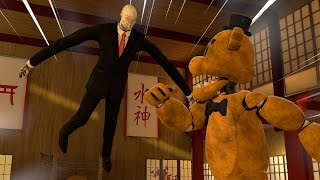 Slender Man VS Golden Freddy (SFM)