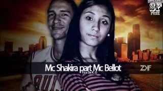 Mc Shakira e Mc Bellot - Fica de K.O ( Dj Dengue ) Lançamento 2014