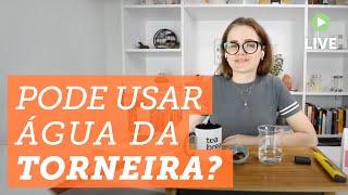 ?  Pode usar água da torneira fazer chá? ?   #dica #chá