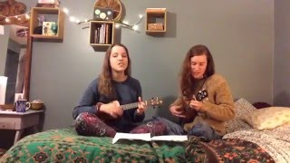 Dog Days Are Over - Florence and The Machine Ukulele Cover (Janie et Vero)