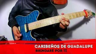 Caribeños de Guadalupe   Brindaré por tí Cover Guitarra