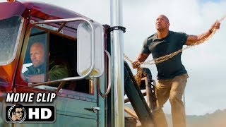 HOBBS & SHAW Clip - Helicopter (2019)