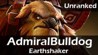 665: AdmiralBulldog as Earthshaker Top(D) ft. Bububu, Xyclopz - Unranked Gameplay 20150613