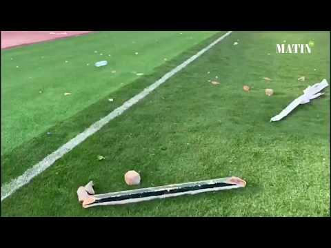 Video : Hooliganisme : Le stade d'honneur à Oujda, théâtre d'actes de violence