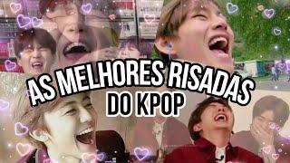 AS MELHORES RISADAS DO K-POP