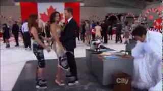 Barney Stinson and Robin Scherbatsky- Rehearsal dinner,Canadian surprise,S09E12