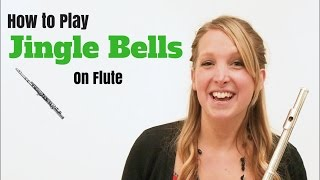 Jingle Bells - EASY Tutorial for Flute