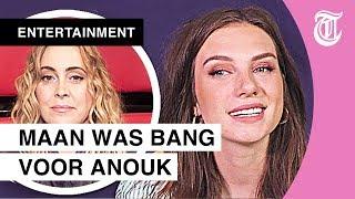 Maan was bang voor Anouk