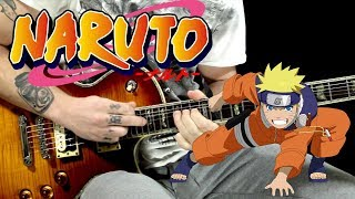 NARUTO OST guitar cover -  MAIN THEME (better version)