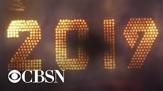 New Year's Eve ball drop in Times Square ushers in 2019 in U.S.