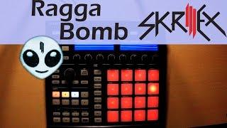 Skrillex - Ragga Bomb Live Trap Remix