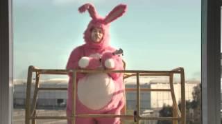 Spot di Galbusera Buoni Così - coniglio rosa