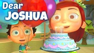 Happy Birthday Song to Joshua