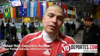 Rafael Ruiz mejor portero en Saturday Afternoon League de Chitown