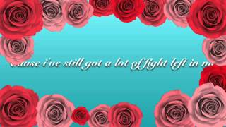 """Fight Song"" Lyric video"
