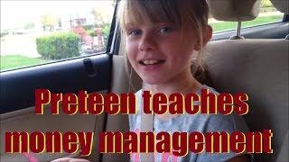 Preteen teaches a vital lesson on budgeting