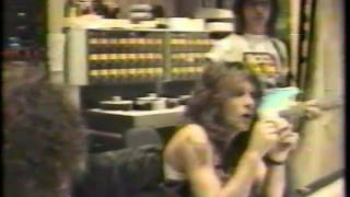 Jon Bon Jovi & Jeff Beck   Young Guns II recording session (clip)