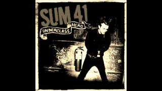 Sum 41- Underclass Hero (Lyrics and Tab)