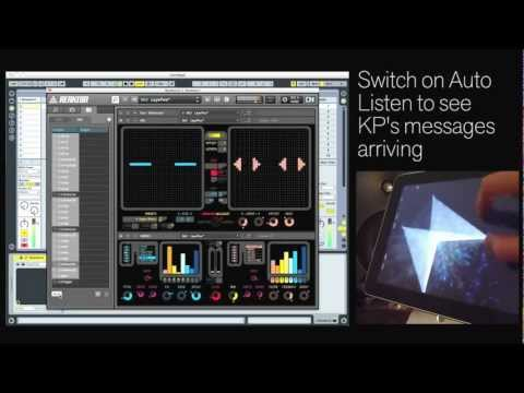 Connecting Reaktor 5.8 with Konkreet Performer