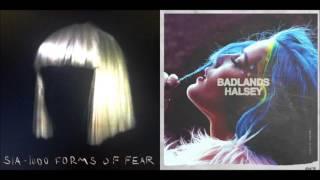 Sia vs. Halsey - Eye Of Roman