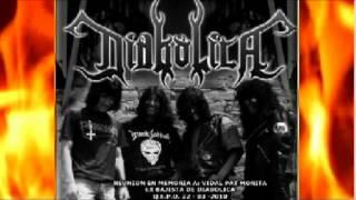 DIABOLICA - Sacrificio Mortal 1992 (Audio en Vivo San Miguel) Metal Peruano - Rock peruano Metal